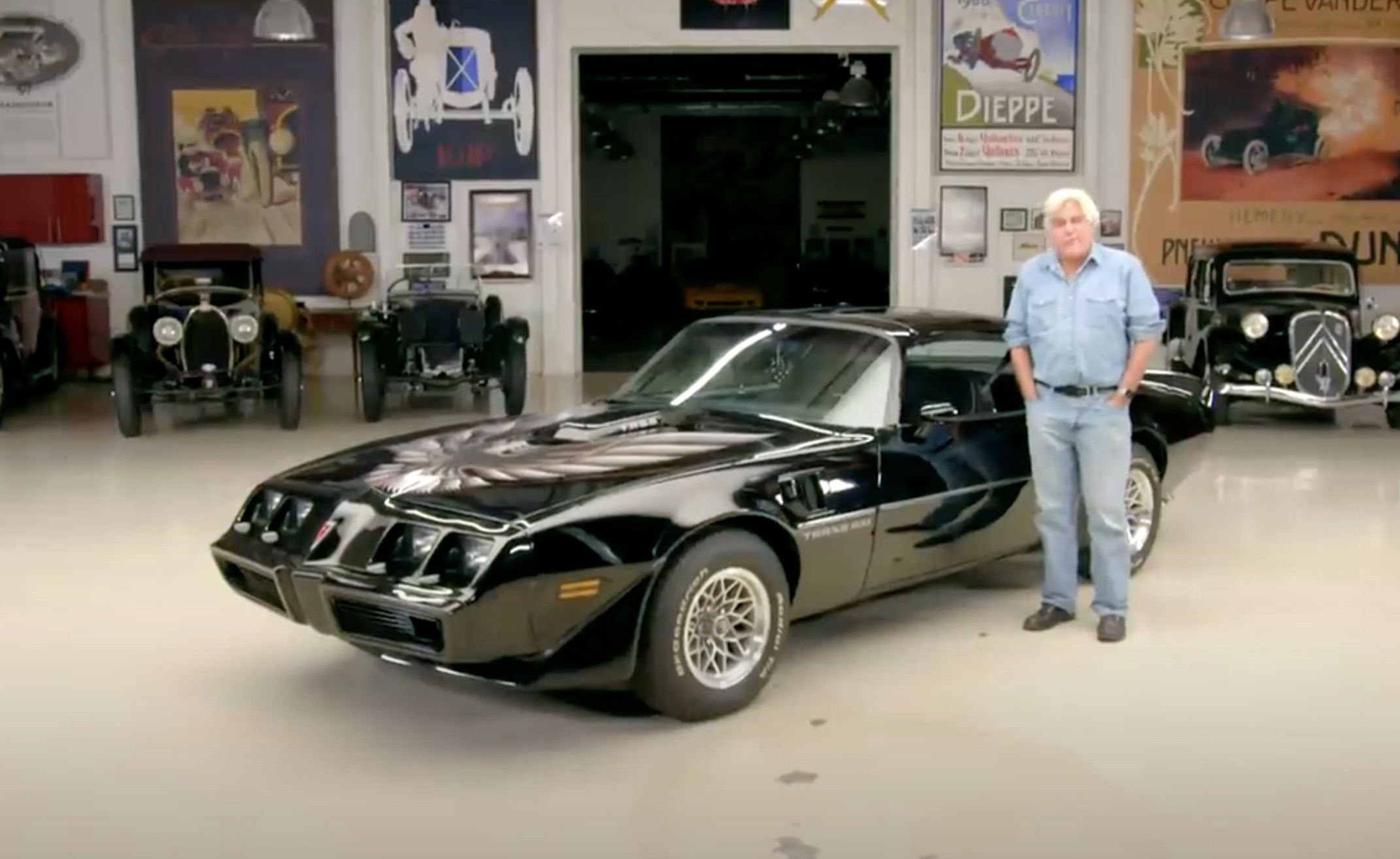 Defiantly Angry, Yet Pleasantly Refined: Jay Leno Checks Out A Super-Clean 1979 Trans Am