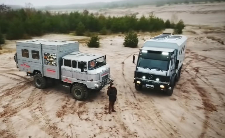 These Off-Road Monster Motorhomes Are Expedition Machines, And Here's How They Are Built