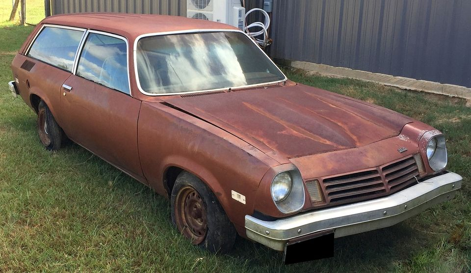 The Want Is Real! The Patina On This Bitchin 1975 Chevrolet Vega Wagon Is Awesome. Man What A Fun Ride This Could Be.