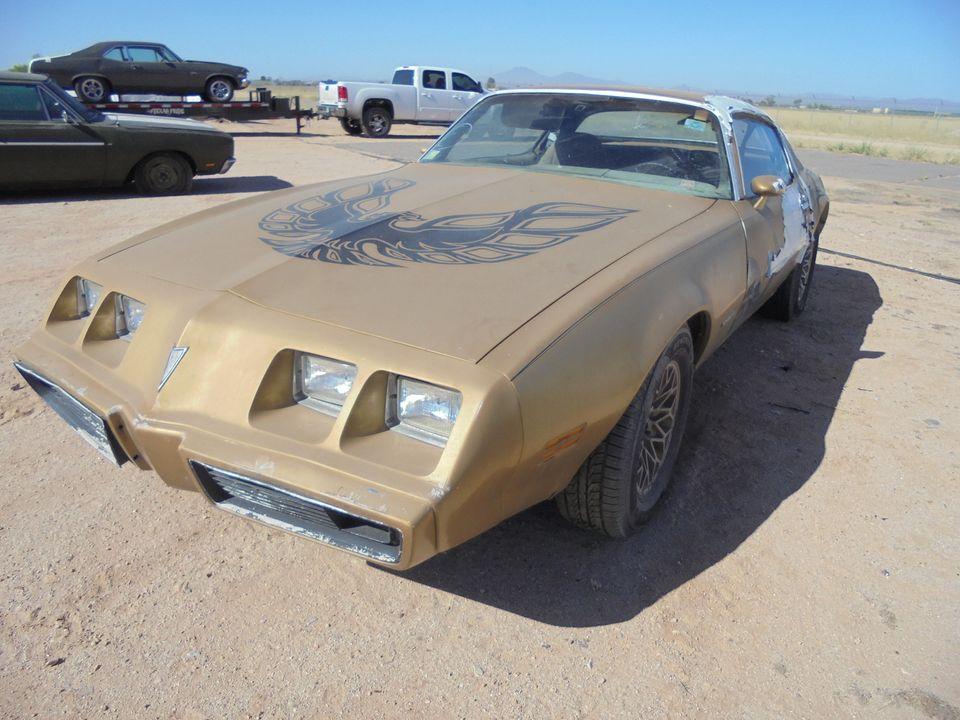Rough Start: 1979 Pontiac Firebird In Need Of Sticker Removal