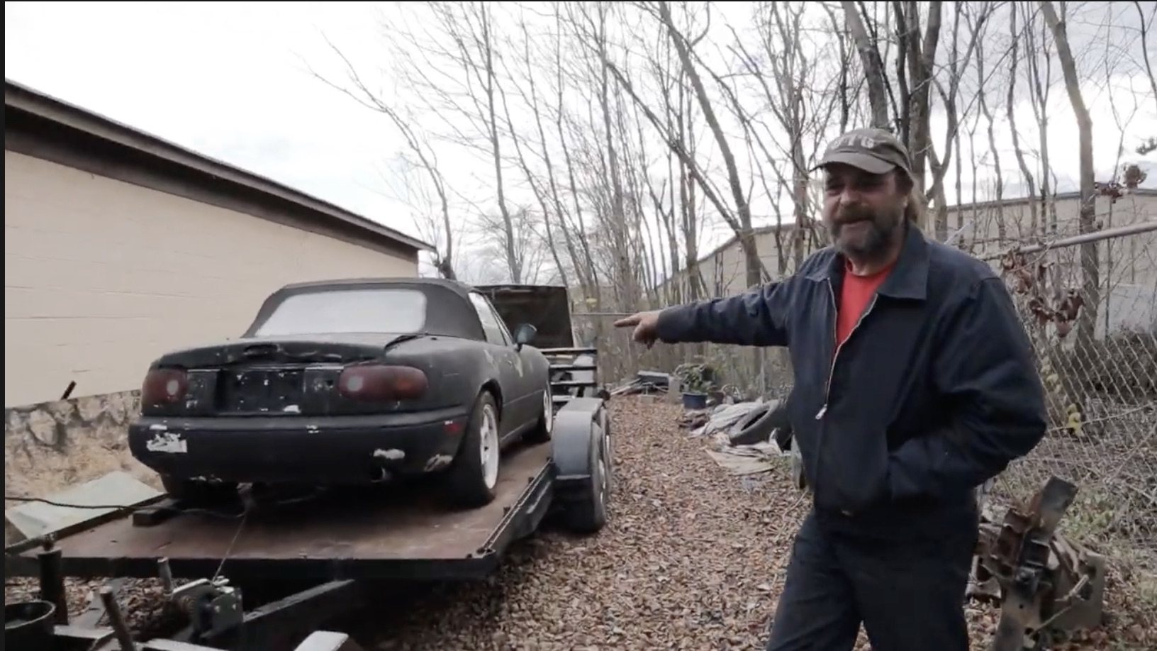 The Floor Seems Colder All Of A Sudden: Uncle Tony Bought A Miata!