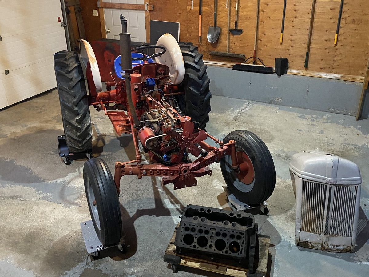 Henry's Hot Rod: We Bought A Mongrel 1940s Ford N Tractor, Scored A Flathead and The Fun Starts Here