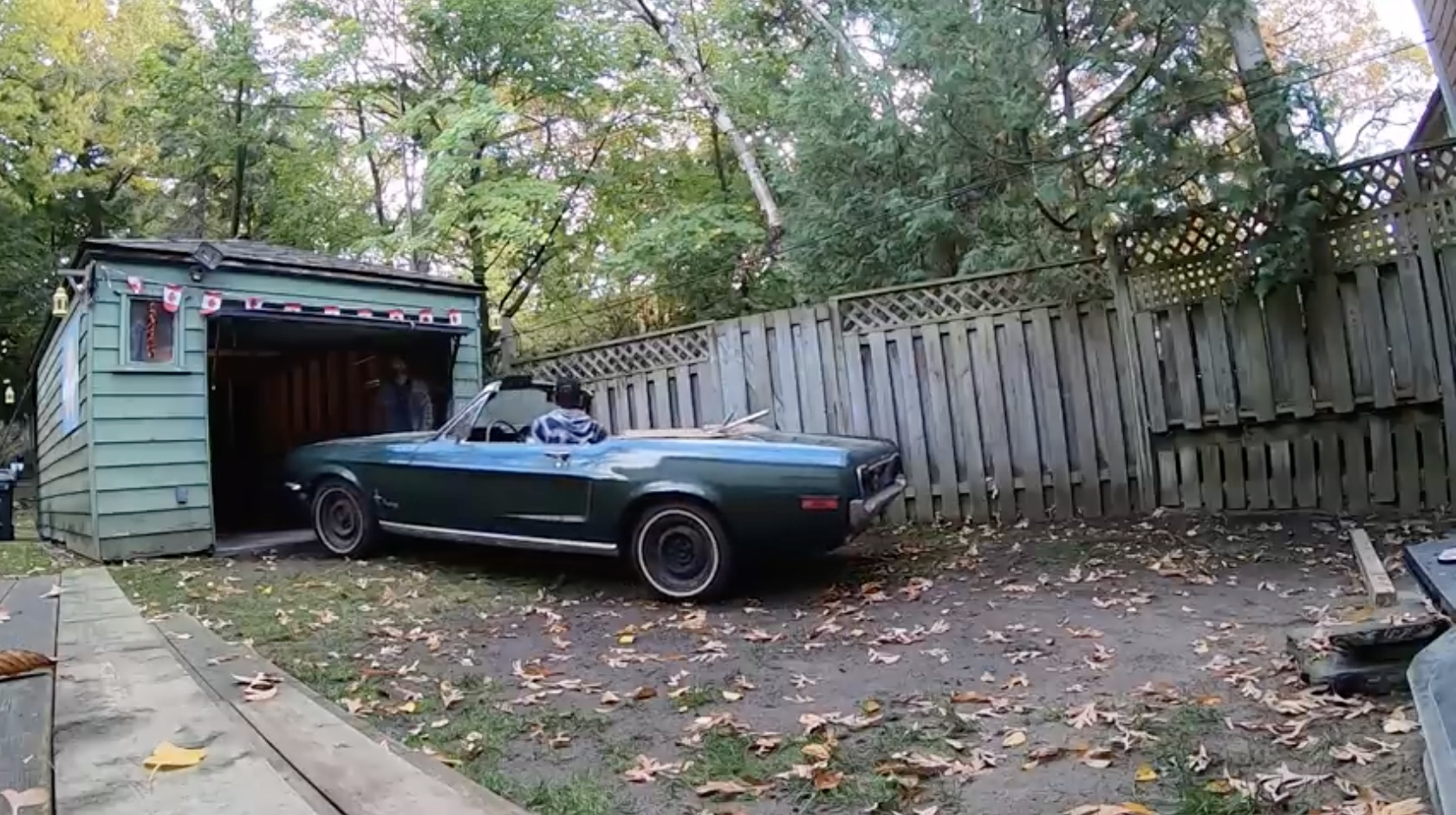 That Mythical Find: Extracting A Garage-Bound 1968 Mustang Convertible