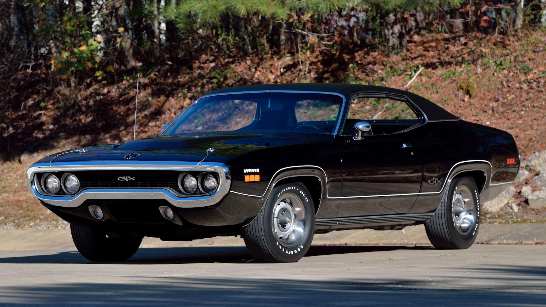 Money No Object: 1971 Plymouth GTX Hemi, Triple Black