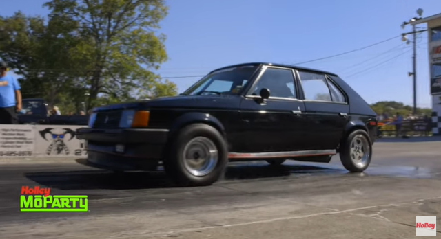 James Reeves' 10 Second 1986 Dodge Omni GLH Really Does Go Like Hell. This Is What A Hot Hatch Looks Like