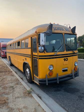 This Ultra Rad Crown Supercoach Bus Would Make A Killer RV, Party Bus, Or Car Hauler!