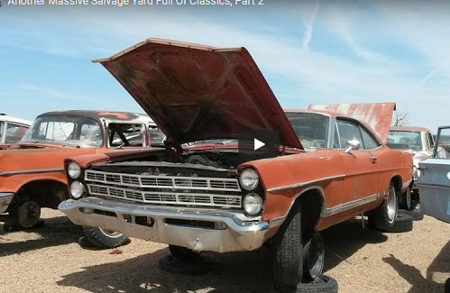 Here's Part 2 Of RebelDryver's Tour Of This Massive Wrecking Yard Full Of Classics