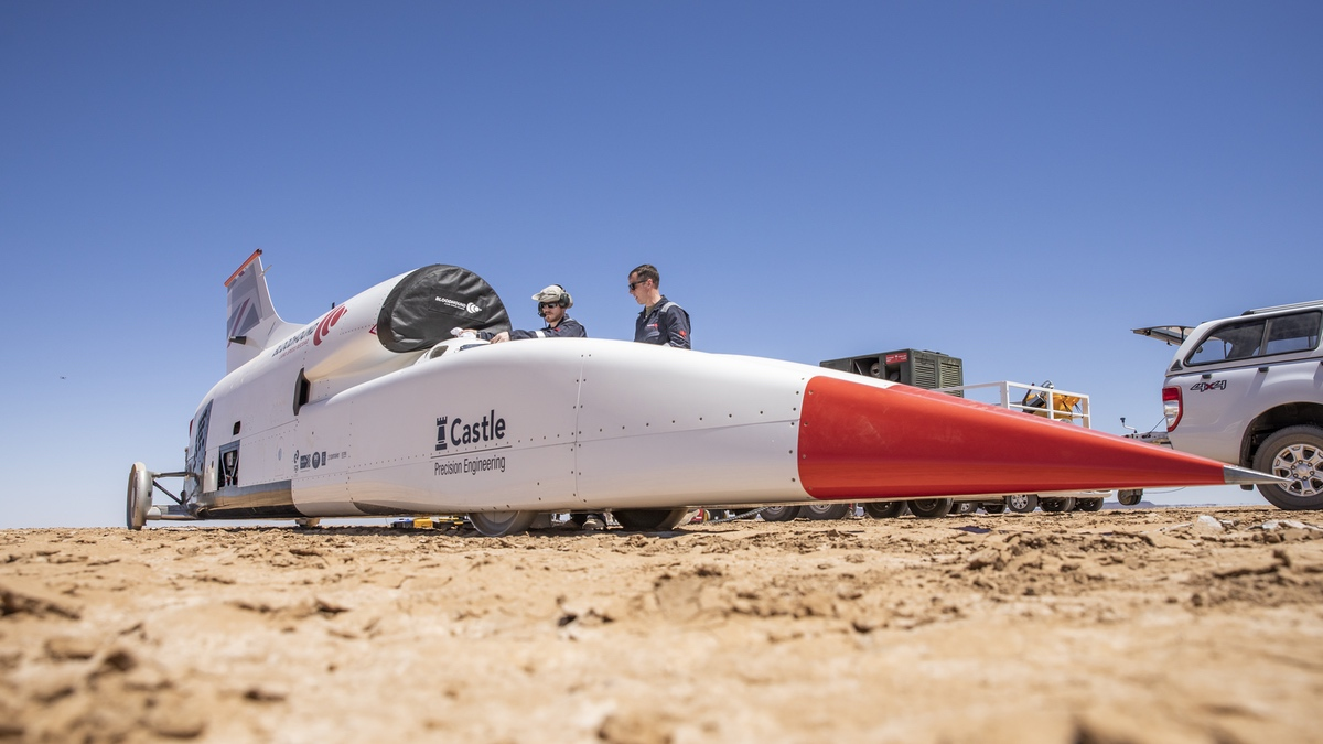 Here We Go Again: The Bloodhound LSR Project Is Up For Sale Once More – Proven To 628mph So Far