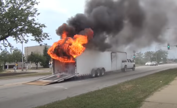 You Should Look At These Fire Systems For Your Trailer, With A Number Of Recent Trailer Fires, Everyone Should Be Thinking About It.