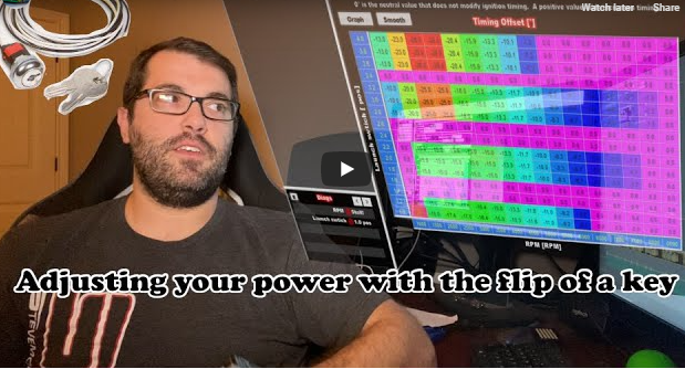 You Can Make Power Level Adjustments With Just The Flip Of A Switch Using Holley EFI And Here's How!