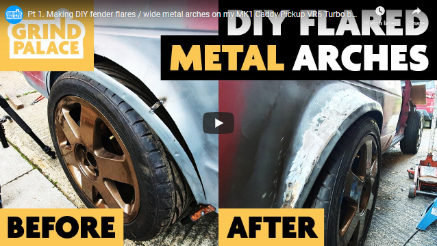DIY Steel Fender Flares, Without An English Wheel Or Any Other Special Sheetmetal Tools