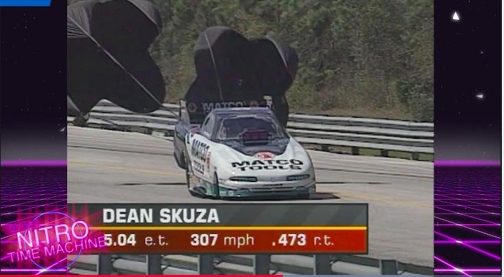 Streak Stopper: Watch Dean Skuza Shut Down John Force At The 1997 NHRA Gatornationals