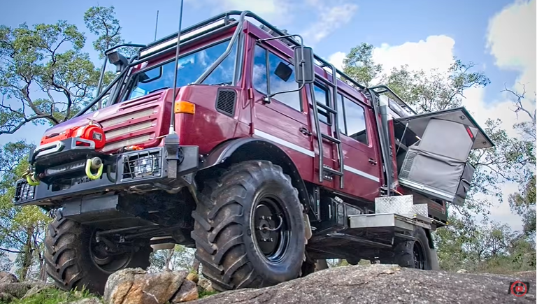 This Doomsday Or Ultimate Adventure Ready Unimog Went From Fire Truck To Zombie Ready In The Most Epic Way