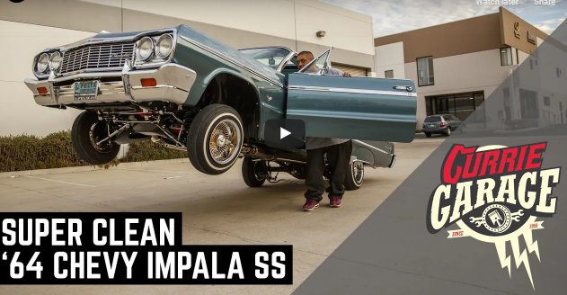 The Currie Garage Gang Gets To Hop A 1964 Impala Lowrider! I'm So Jealous!