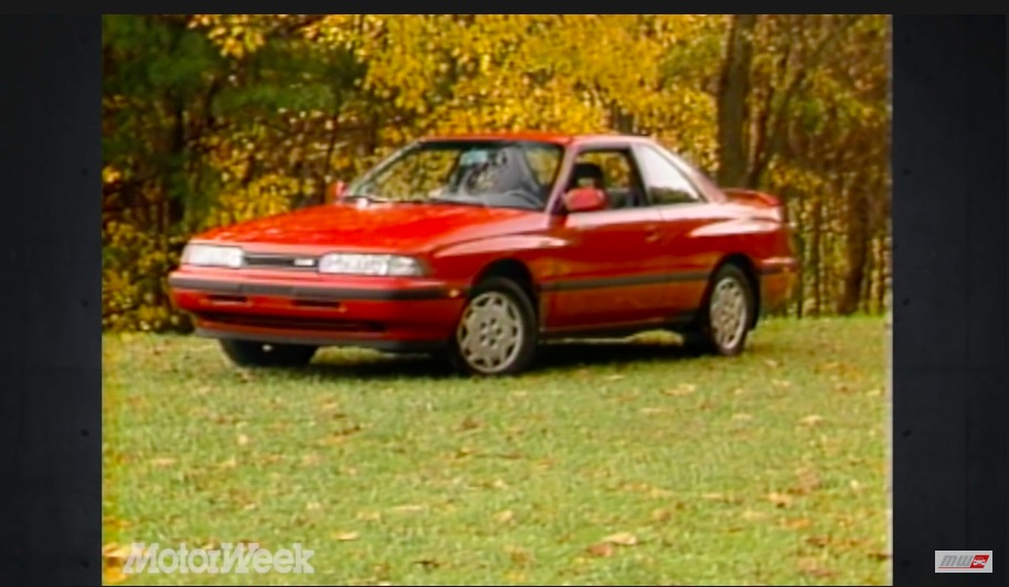Quick and Quirky: This Look Back At The 1988 Mazda MX-6 GT Shows Off The Semi-Awkward Stage Of 1980s Japanese Cars