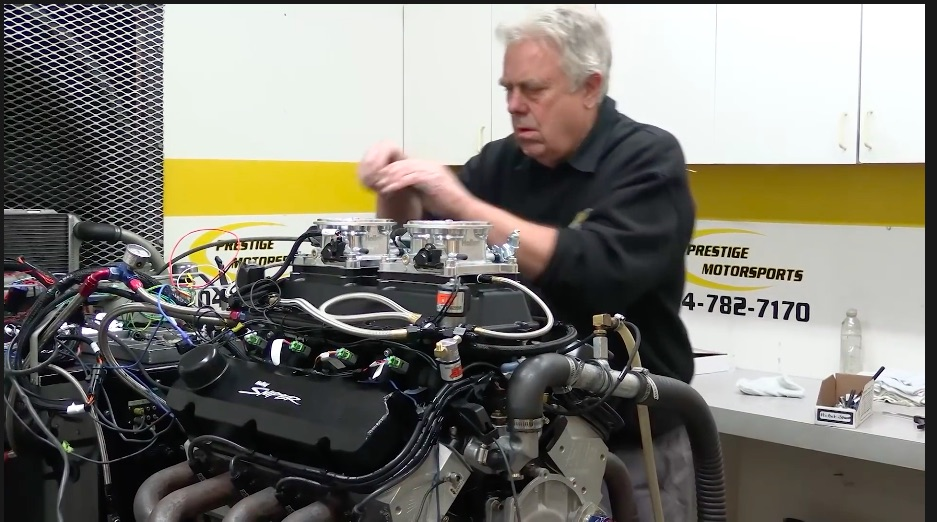 All Spray, No Pray: Watch This Prestige Motorsports 427 Ford Small Black Make 1,000hp On Spray – You Can Win It!