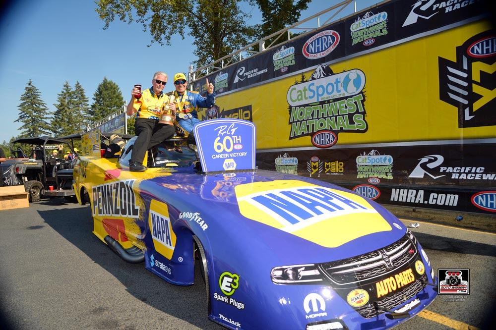 Rahn Tobler, NAPA Funny Car Crew Chief Announces his Retirement