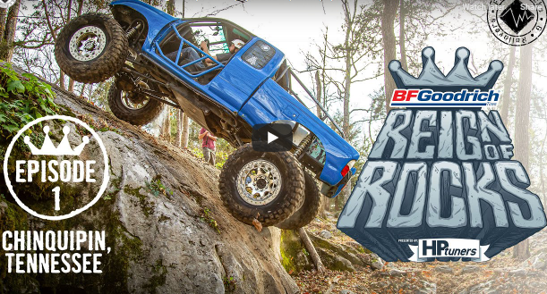 The Reign Of Rocks Rock Crawling Competition Starts Here: 8 Trucks, Big Challenges, And One Winner