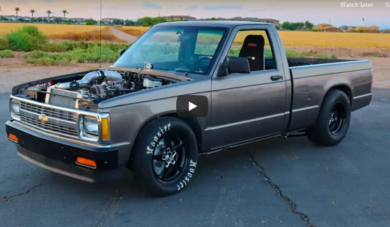 Watch This LS Blow Thru Turbo S-10 Get Built In Just 10 Minutes. I Wish My Stuff Went Together This Quick!
