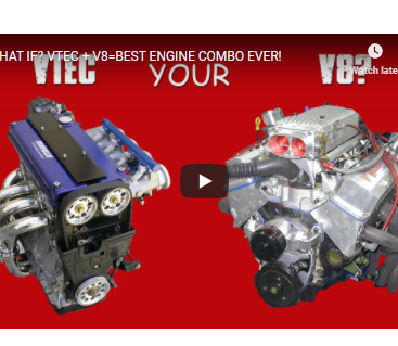 What If You Could Have VTEC In Your V8? Would It Be The Ultimate Engine Combo? The Best Engine Ever?