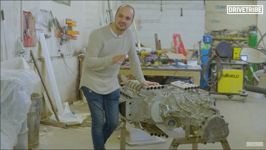 There's A British Firm Working On An X20 Engine Made Of A Pair Of Two-Liter V10s