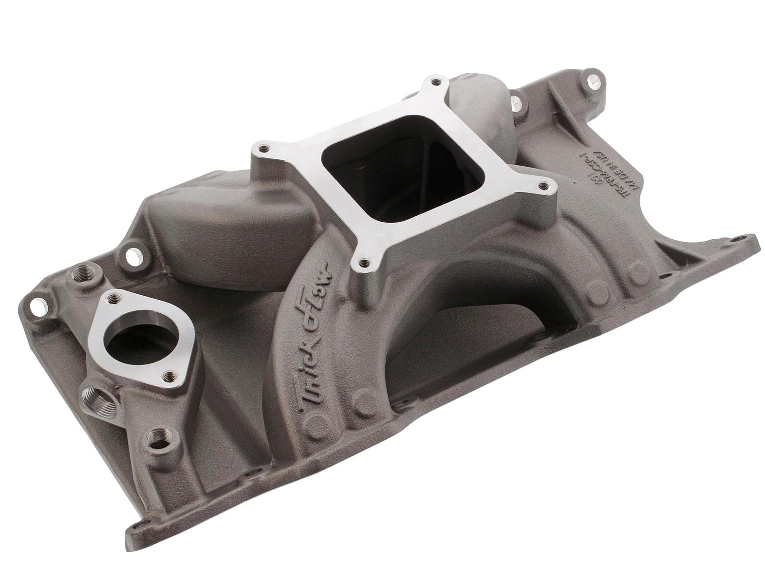Looking For More Power Our Of Your LA Series Mopar Small Block? The Trick Flow Track Heat Intake Manifold Is Your Ticket!