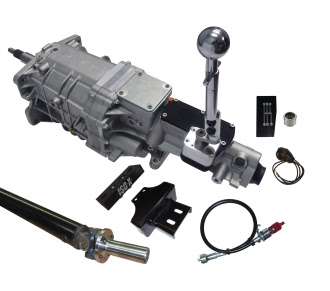 More Transmission Choices For Corvettes! New Pro-Fit TKX 5-speed Systems For 1955-82 C1, C2 and C3 Corvettes
