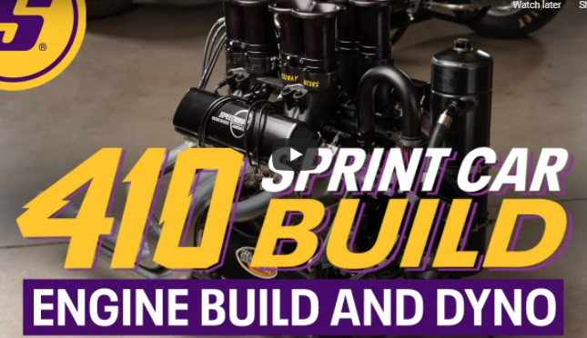 Ever Want To Know What Goes Into Building A 410 Sprint Car Engine? World Of Outlaws Power Starts Here!