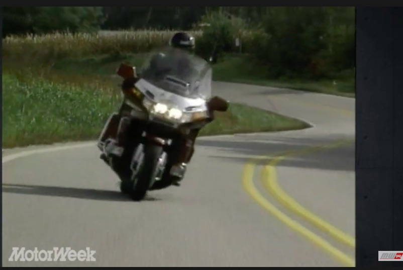 Two Wheel Bruiser: This 1995 Review Of Honda Gold Wing Motorcycle Is Both Hilarious and Awesome