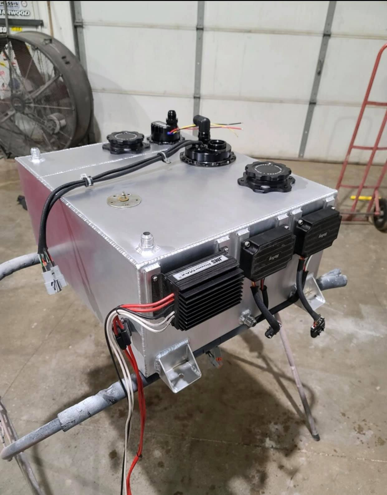 Fabrication Spotlight: Dennis Taylor Knows How To Get Down With Some Dual Fuel Tanks