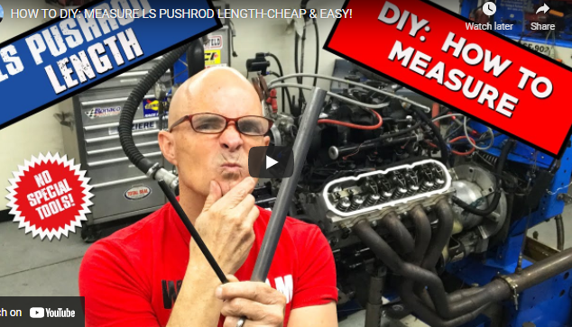 How To Measure For Pushrod Length In Your LS Engine: Not Hard, But Really Important