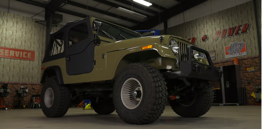 This LT Swapped CJ7 Renegade Is A bad Ass That Is Period Correct Everywhere But Under The Hood