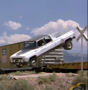 Check Out All The Bad Ass Square Body GM Trucks In These Great Movie Clips!