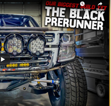 Project Black Prerunner And More! This Is The Biggest And Baddest Build Kibbetech Has Ever Done