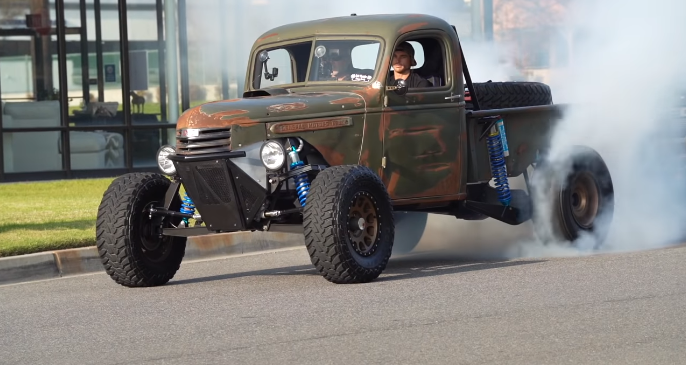 This Rad Vintage GMC Prerunner Is An Epic Use Of Suspension, Wrapped In Attitude, And Powered By A Blown Small Block.