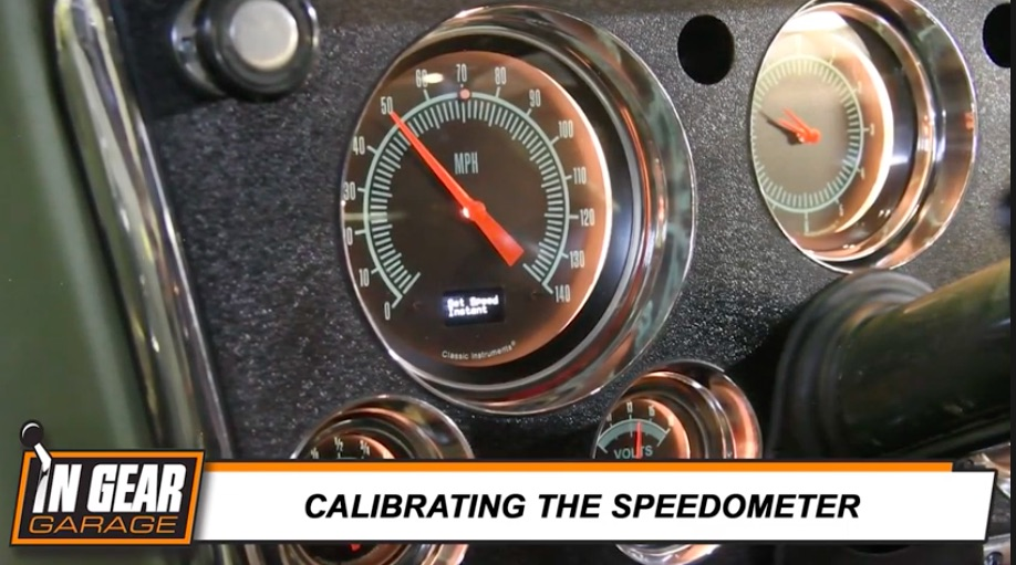 Install Video: Check Out How Clean And Easy A Classic Instruments Dash Cluster Goes Into A 1971 Suburban!