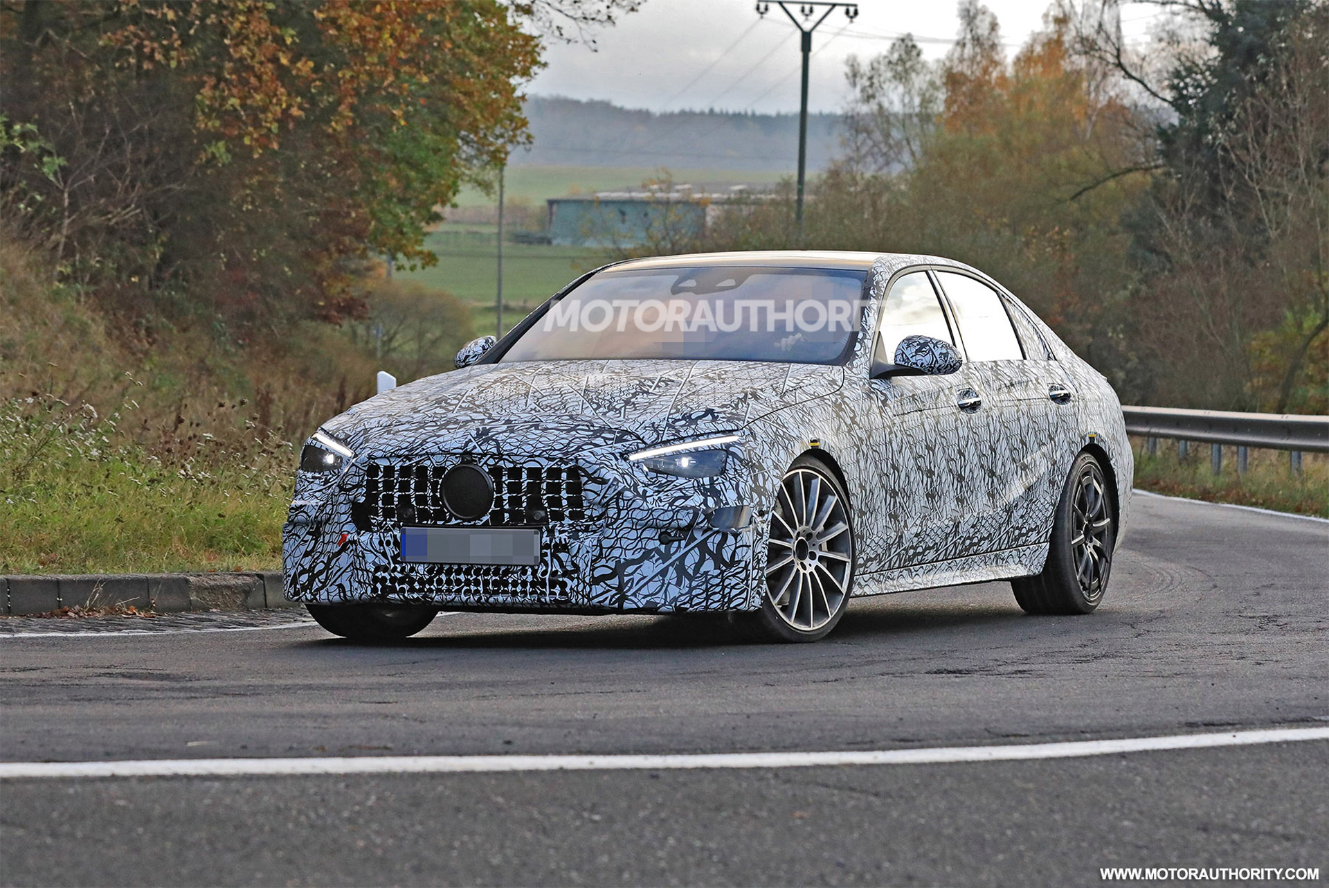 Is Merceces New C63 To Porky To Run With The Competition? Four Banger With Electric Assist Vs V8s