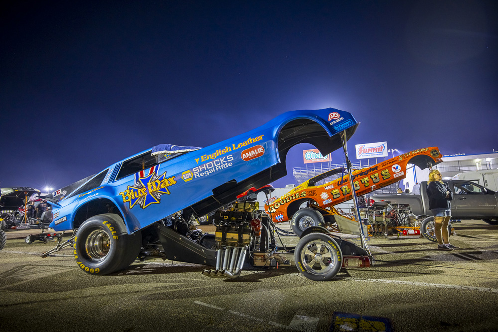 64 Funny Cars, Make That 70 Funny Cars At The Texas Motorplex For Funny Car Chaos!
