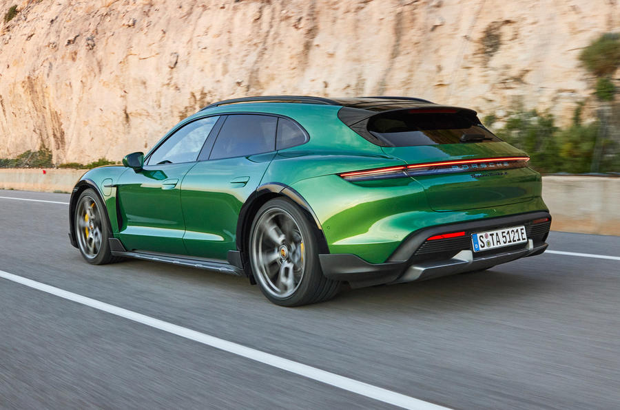 Wagon Master: The New Porsche Taycan Cross Turismo Has A Bad Name But Monster Performance