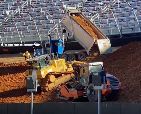 Bristol Goes Dirt: Look At What It Takes To Turn One Awesome Paved Oval Into The Ultimate Dirt Oval