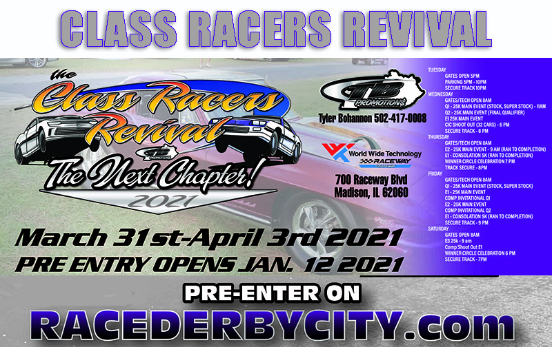 Stock And Super Stock Extravaganza: The Class Racer's Revival Comes To St. Louis – WATCH HERE LIVE!