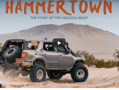 Hammertown: The Sequoia Beast Is A True Story Of One Man, One Husband, One Father, One Truck Builder, Attempting The Every Man Challenge