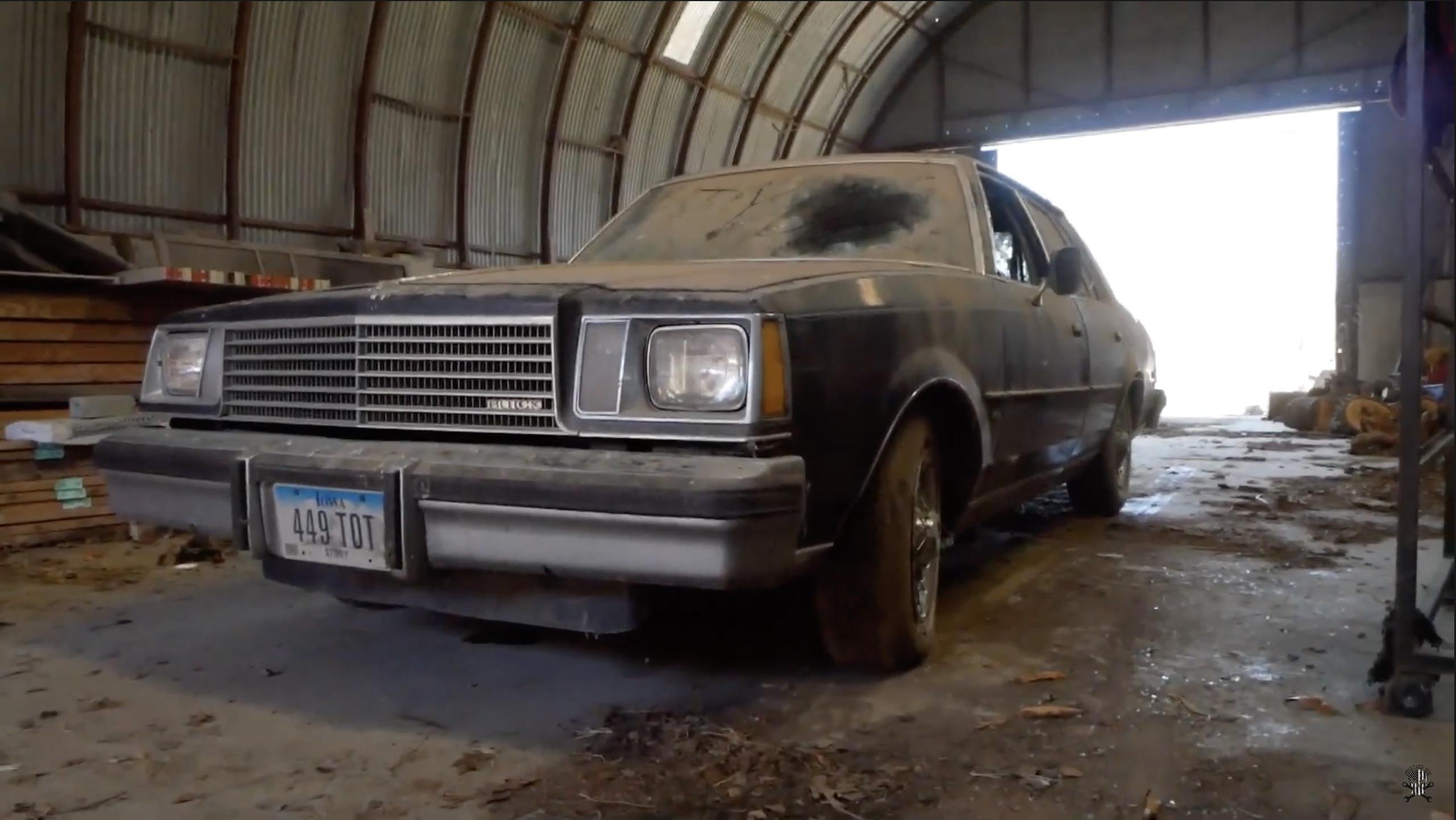 The Luxury HMMWV: We Got Junkyard Digs To Revive A Diesel-Powered Buick!