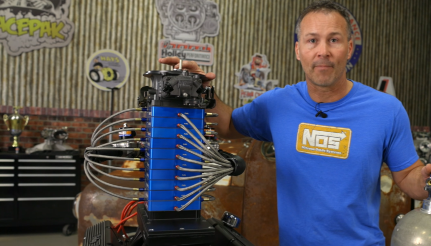 NOS Nitrous Unveils Biggest Nitrous System In History! The Moonshot Is Capable Of 3,500 Horsepower!