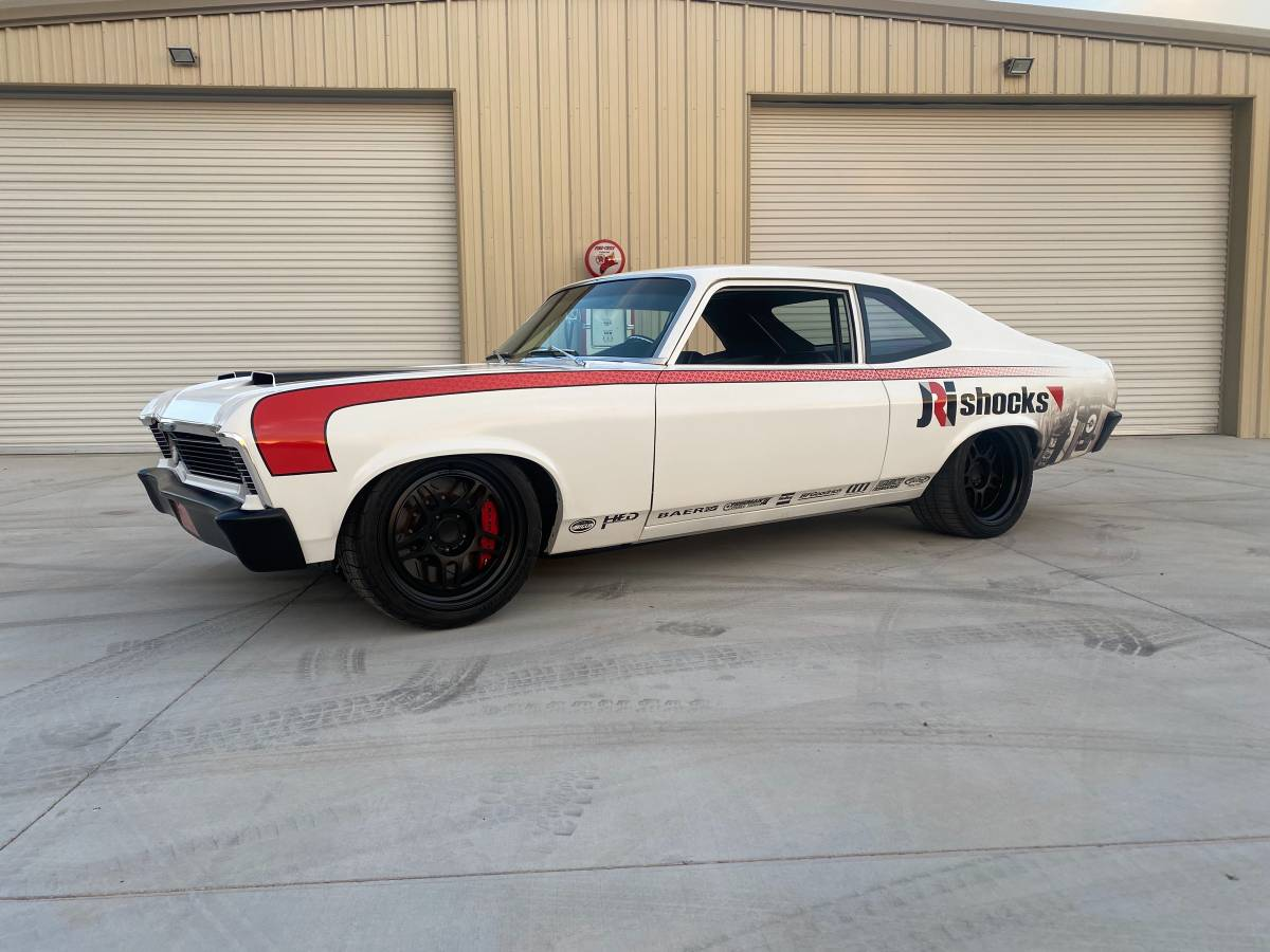 SEMA Screamer: This 1970 Nova Was Built For The Show And It Is Built To GO!