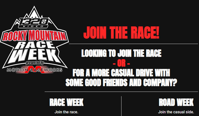 Rocky Mountain Race Week AND Road Week Registration Is Open! Sign Up Now!