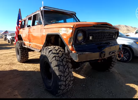 The Raddest Rigs of King of the Hammers: Gambler 500 Benz, Chevy Blazer and Rock Crawlers