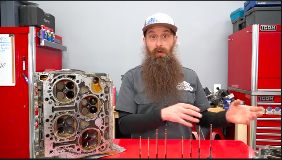Inspecting A Weirdo: This Teardown Of A High Mileage VW W8 Engine Is Revealing and Interesting