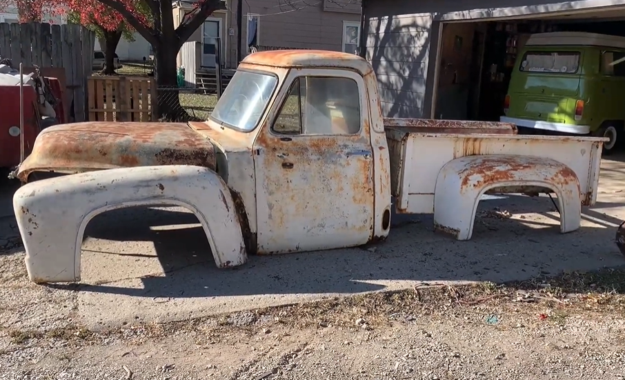 $1,000 Build: Is It Possible To Build A Rat Rod Style Hot Rod F100 For $1,000? Watch