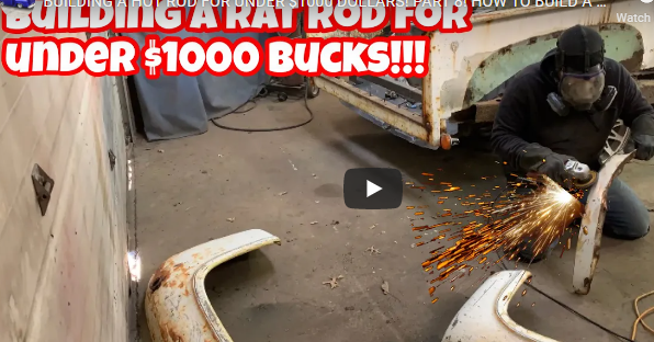 $1,000 Build: Wait What? Yep, Building An Entire Custom F-100 With A $1,000 Budget. Crazy, Or Cool?
